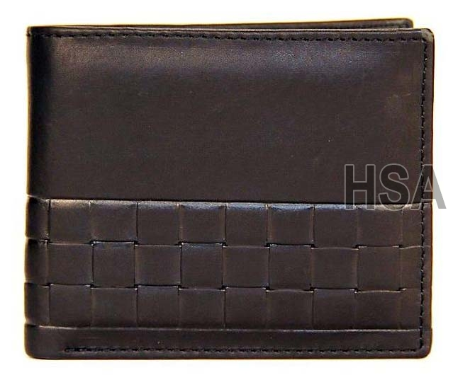 Mens Leather Wallet (F65917)