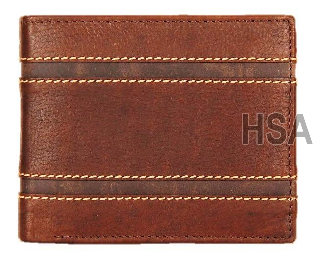 Mens Leather Wallet (F65926)