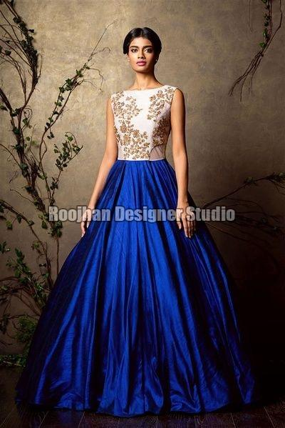 Indo Western Gown Manufacturer,Indo Western Gown Exporter & Supplier ...