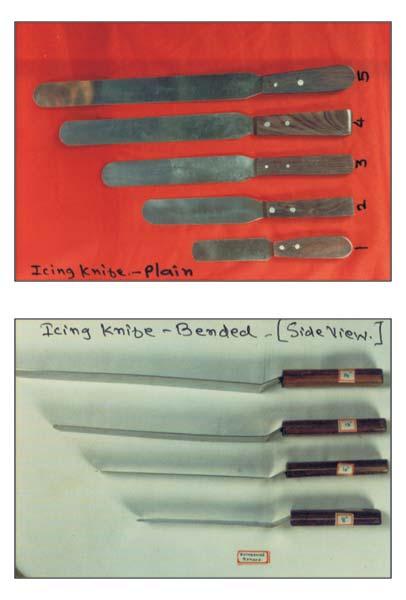 Icing Knives