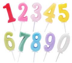 Number Candles