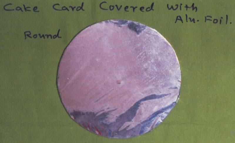 Round Cake Cards