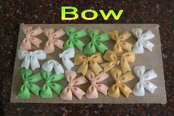 Edible Sugar Bow