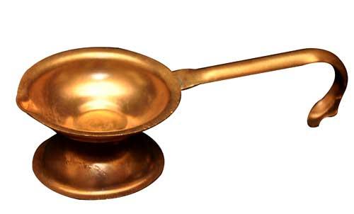 Copper Diya 02
