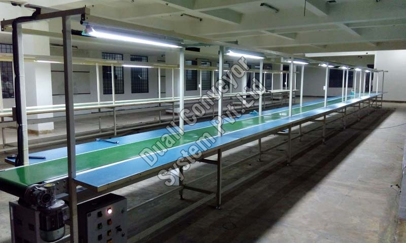 Modern Assembly Conveyor