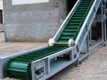 Sidewall Inclined Belt Conveyor