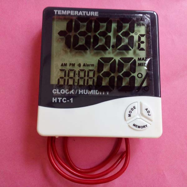 Digital Thermometer Hygrometer with Probe