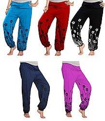 Ladies Long Harem Pants 03