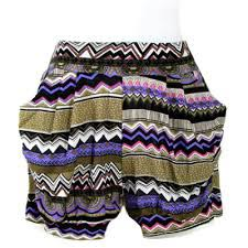 Ladies Short Harem Pant 01