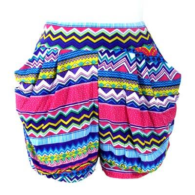 Ladies Short Harem Pant 02