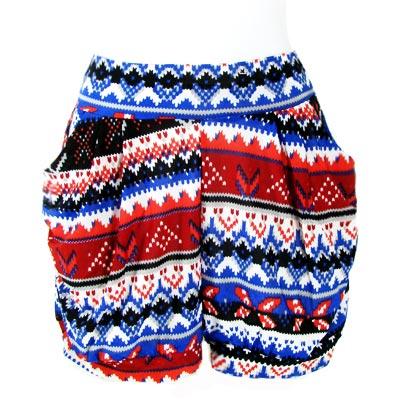 Ladies Short Harem Pant 03