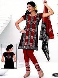 Wax Batik Dress Material 01