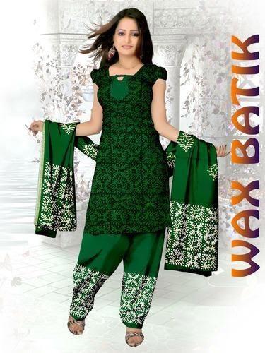 Wax Batik Dress Material 03