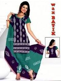 Wax Batik Dress Material 04