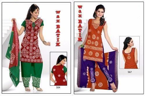 Wax Batik Dress Material 05