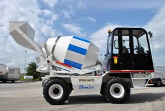 Self Loader Concrete Mixer