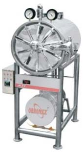 AUTOCLAVE CYLINDERICAL HORIZONTAL TRIPLE WALL
