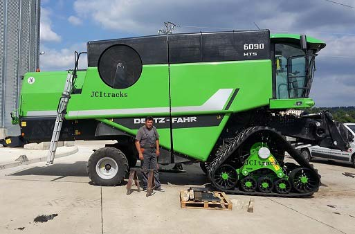 Tractor Track System : Agri tractor track system pick up truck conversion