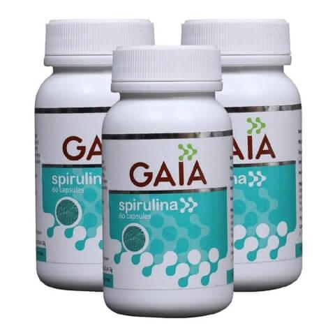 Gaia Spirulina Capsules