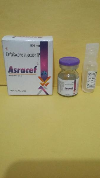 Ceftriaxone Injection IP 500 mg