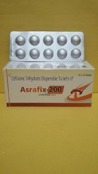 Cefixime Trihydrate Dispersible Tablets IP
