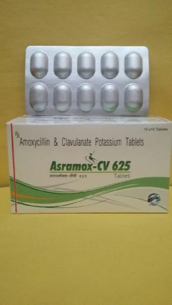 Amoxycillin & Clavulanate Pottasium Tablets