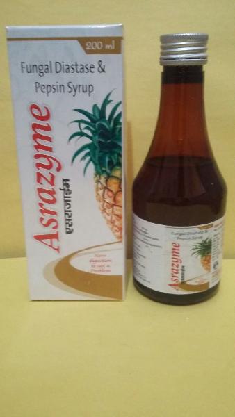 Fungal, Diastase & Pepsin Syrup
