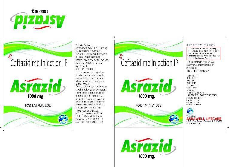 Ceftazidime Injection IP