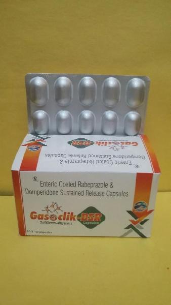Enteric Coated Rabeprazole Domperidone Sustained Release Capsules