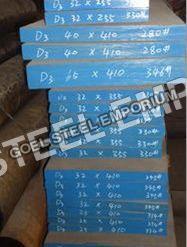 D3 Tool Steel Flats