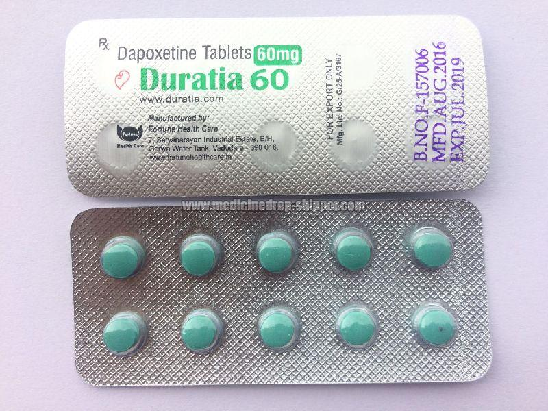 Duratia 60 mg Tablets