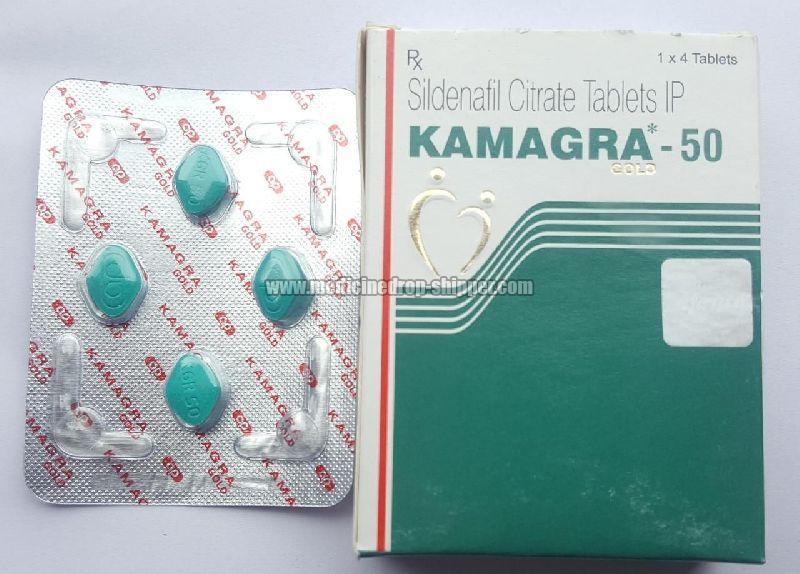 Kamagra 50 mg Tablets