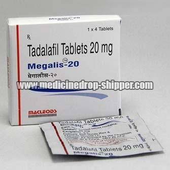 Tadalafil Tablets 20 mg