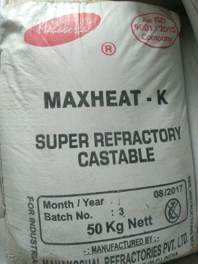 Maxheat-K Super Refractory Castable