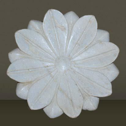 Marble Lotus Plate