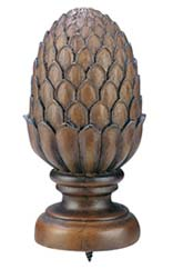 Wooden Curtain Finials
