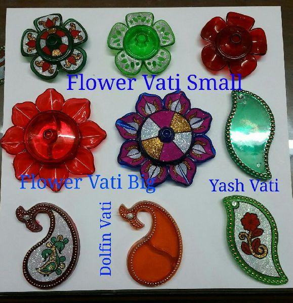 Decorative Acrylic Kankavati