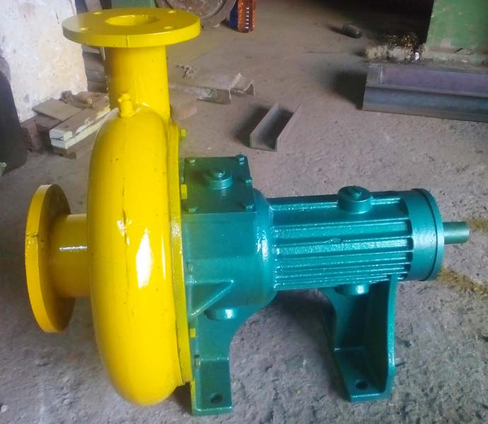 Mahiraj Centrifugal Non Clog Slurry Pumps With SS Impeller