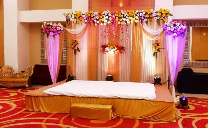 Floral Stage Decoration Services