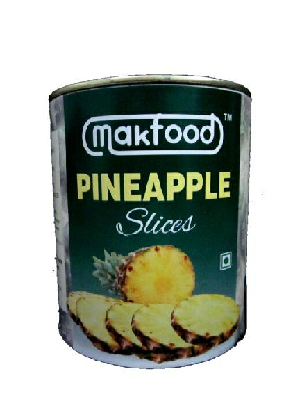 Makfood Pineapple Slices