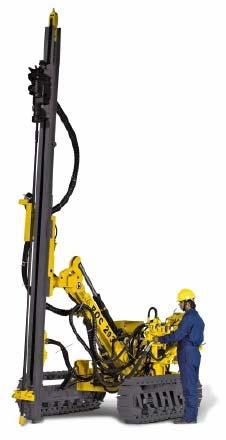 Crawler Drill Machine 01