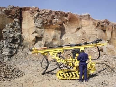 Crawler Drill Machine 02