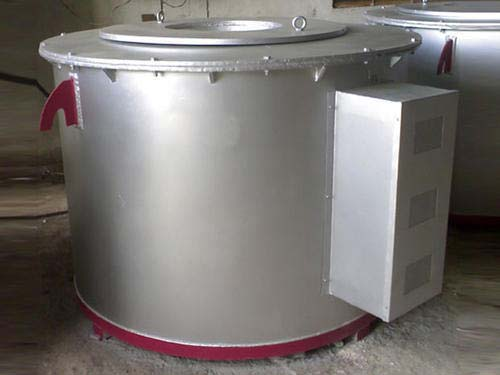 Crucible Aluminium Furnace