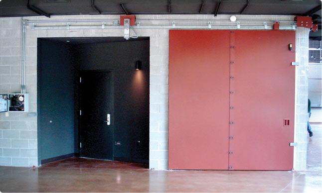Fire Partition Doors