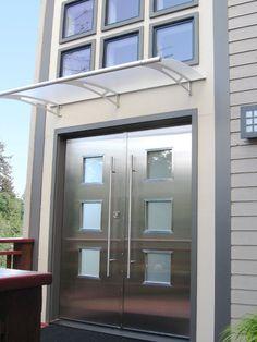 Residential Stainless Steel Doors