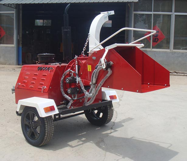 Diesel Engine Wood Chipper 03