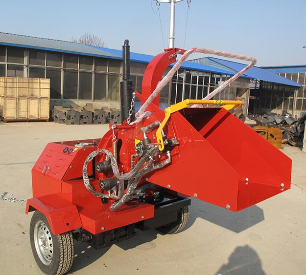 Diesel Engine Wood Chipper 04