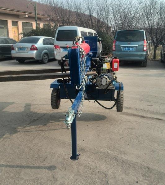 Diesel Log Splitter 02