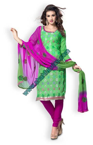 Chanderi Unstitched Suits