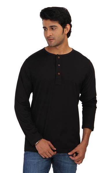 Mens Henley T-Shirt 02